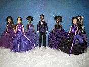Purple Tuxedo to coordinate with gowns