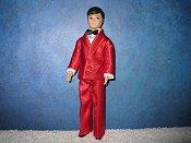 Red Satin Tuxedo