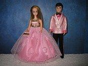 Glitter Hearts Couple