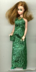 Metallic GREEN gown