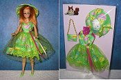 Easter Green Dress with hat