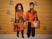 Orange Kitty Dancing & Gary sets