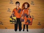 Orange Kitty Mini & Gary set