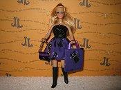 Purple Kitty Mini with bag & purse