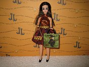 Stripes Mini with bag & purse