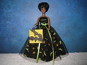 Bats and Spiders Gown