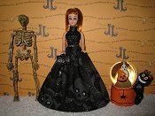 Large Skulls Gown