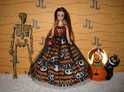SkeleAnimals Tulle Gown
