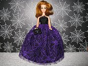 Spider Lace Gown