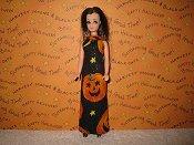 Pumpkin Slim Gown