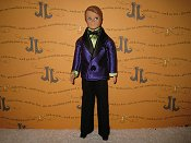 Tuxedo Purple and Lime
