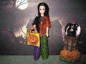 Halloween Eyelash set (Angie)
