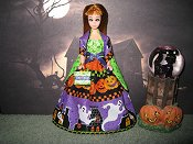 Haunted House Gown with Wrap (Glori)