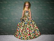 Ornaments & Ivy Ballgown with purse PREORDER