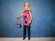 Kitty Black Mini purse leggings