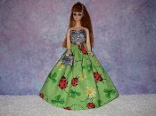 LADY LUCK gown & purse