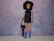 ROYAL & PURPLE fringe mini with purse