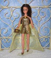 LEMON COOLER gown with purse