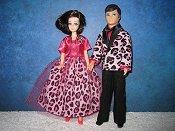 Pink Leopard Tux & Dress Set