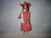 Rose with hat & purse
