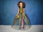 Mardi Gras Mesh & Jumper gown