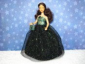 Stormy gown with purse