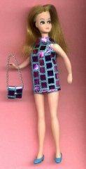 MIRROR fabric mini with purse