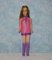 Pink & Purple with Chain Dancing Mini
