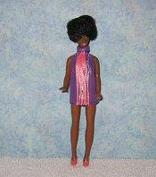 Purple & Pink Fringe Dancing Mini