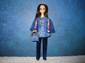 Pantsuit Blue Swirls Angie