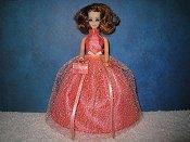 Peach Crush ballgown
