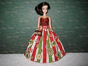 Peppermints Ballgown with purse PREORDER