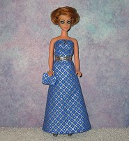 Periwinkle Diamonds Gown #2