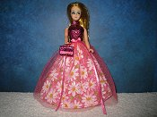 Pink Daisy Tulle Ballgown (Dawn)