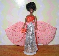 Polkadot Delight gown & purse