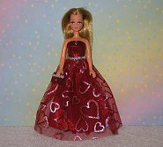 RED HOT 4 YOU  gown Pippa