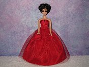 SCARLETT gown with purse