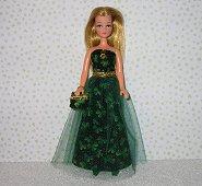 SHAMROCK EVENING  gown Pippa