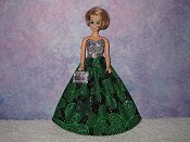 SHAMROCK SPARKLES gown with purse