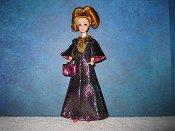 Slink Pink & Teal color shifting gown (Daphne)