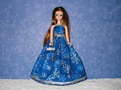 SNOW BELLE gown & purse
