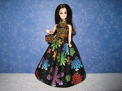 Multicolor Snowflakes Ballgown (Angie)
