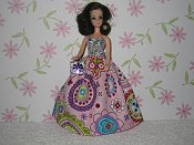 Crazy Dazy Gown with purse (Maureen)