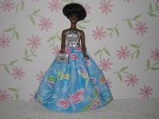Dragonfly gown with purse (Dale)