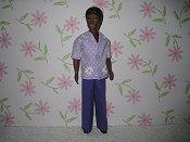 Gary Lavender shirt & pants