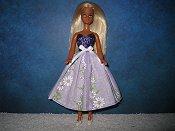 Spring Lavender Daisy Dress