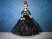 Midnight Gala Stormy ballgown