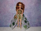 SAINT PATRICK'S Euro gown with purse