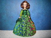 St Pats Rainbow gown #1