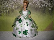 St Pats Sparkle Gown (Dawn)